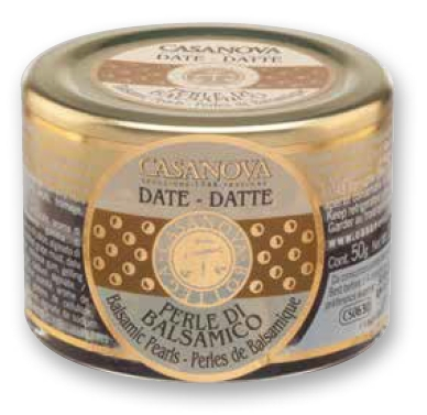 CS0632 Balsamic Pearls flavoured DATE 50 g - 3