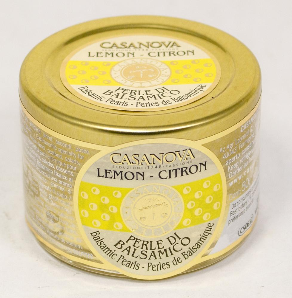 CS0632 Balsamic Pearls flavoured LEMON 50 g - 1