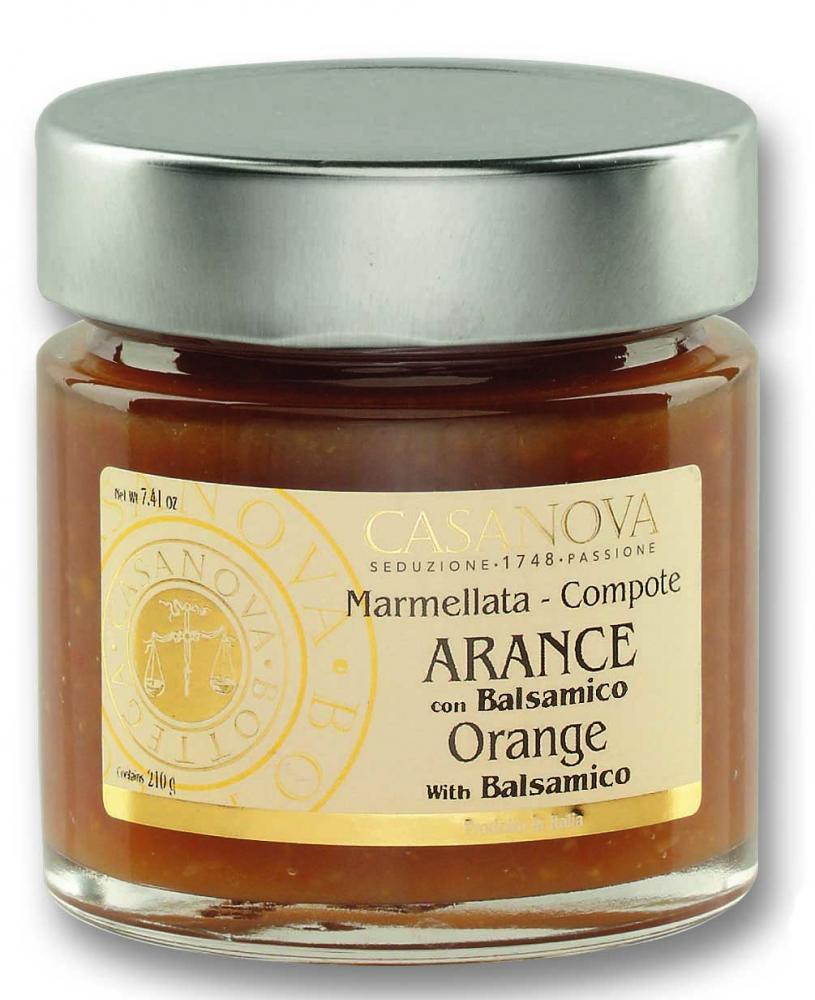 CS0650 Marmellata - Composta di Arance con Balsamico - 1