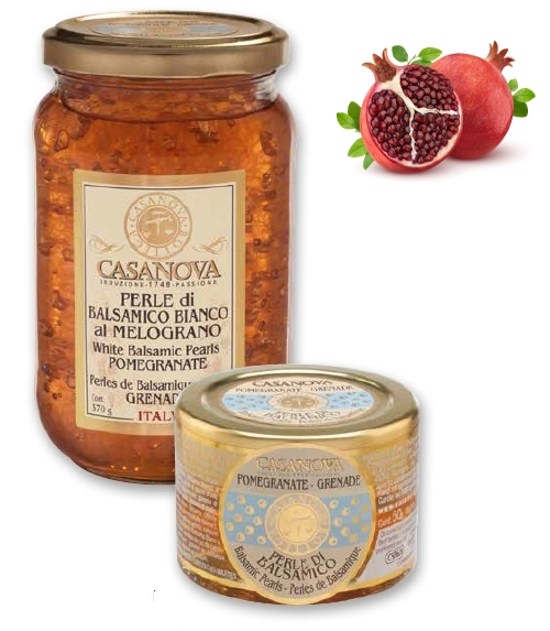 CS0626 Balsamic Pearls Flavoured POMEGRANATE 50g - 2